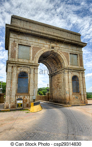 Stock Photos of Hartbeespoort Dam Arch in Pretoria, South Africa.