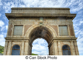 Stock Images of Hartbeespoort Dam Arch in Pretoria, South Africa.