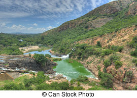 Picture of Hartbeespoort Dam.