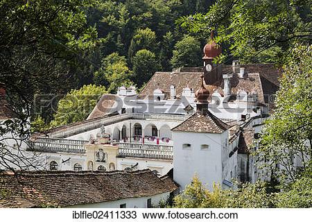 "Stock Photo of ""Herberstein Castle, Buchberg near Herberstein."