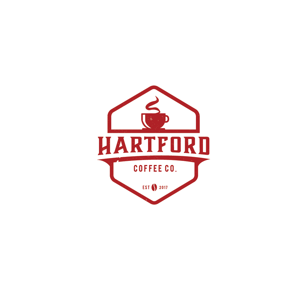 Elegant, Playful, Coffee Shop Logo Design for Hartford.
