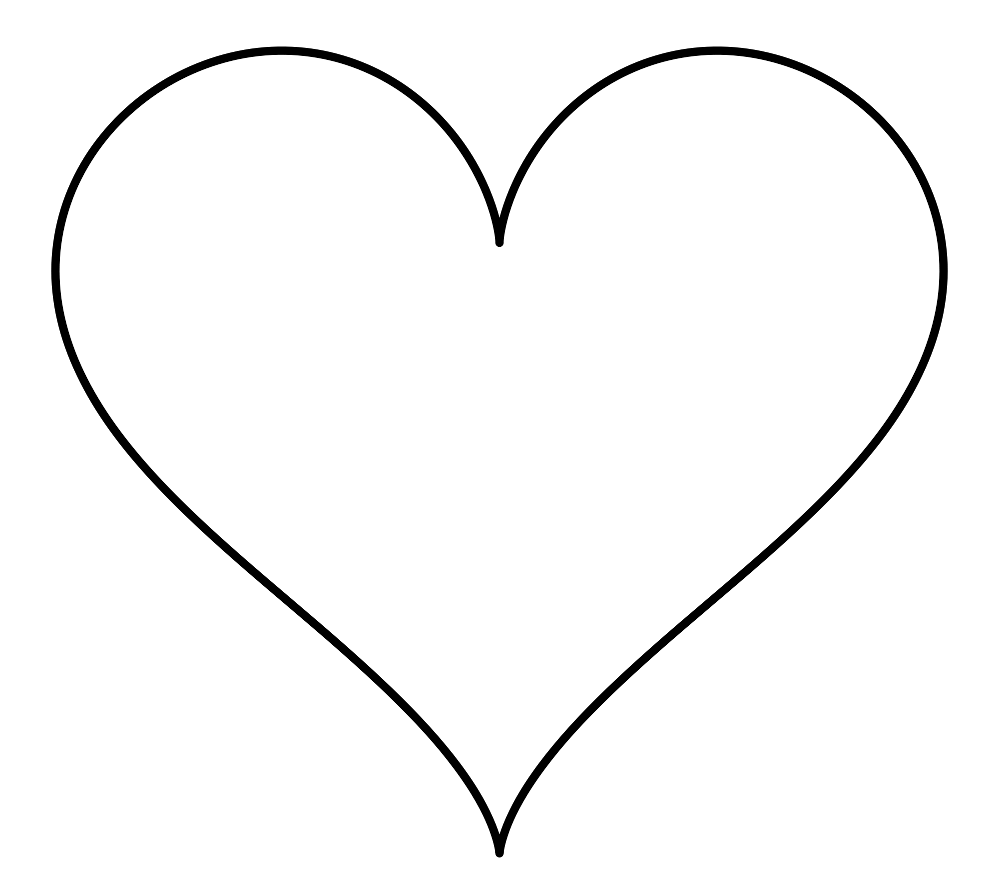 Heart Shape Picture.