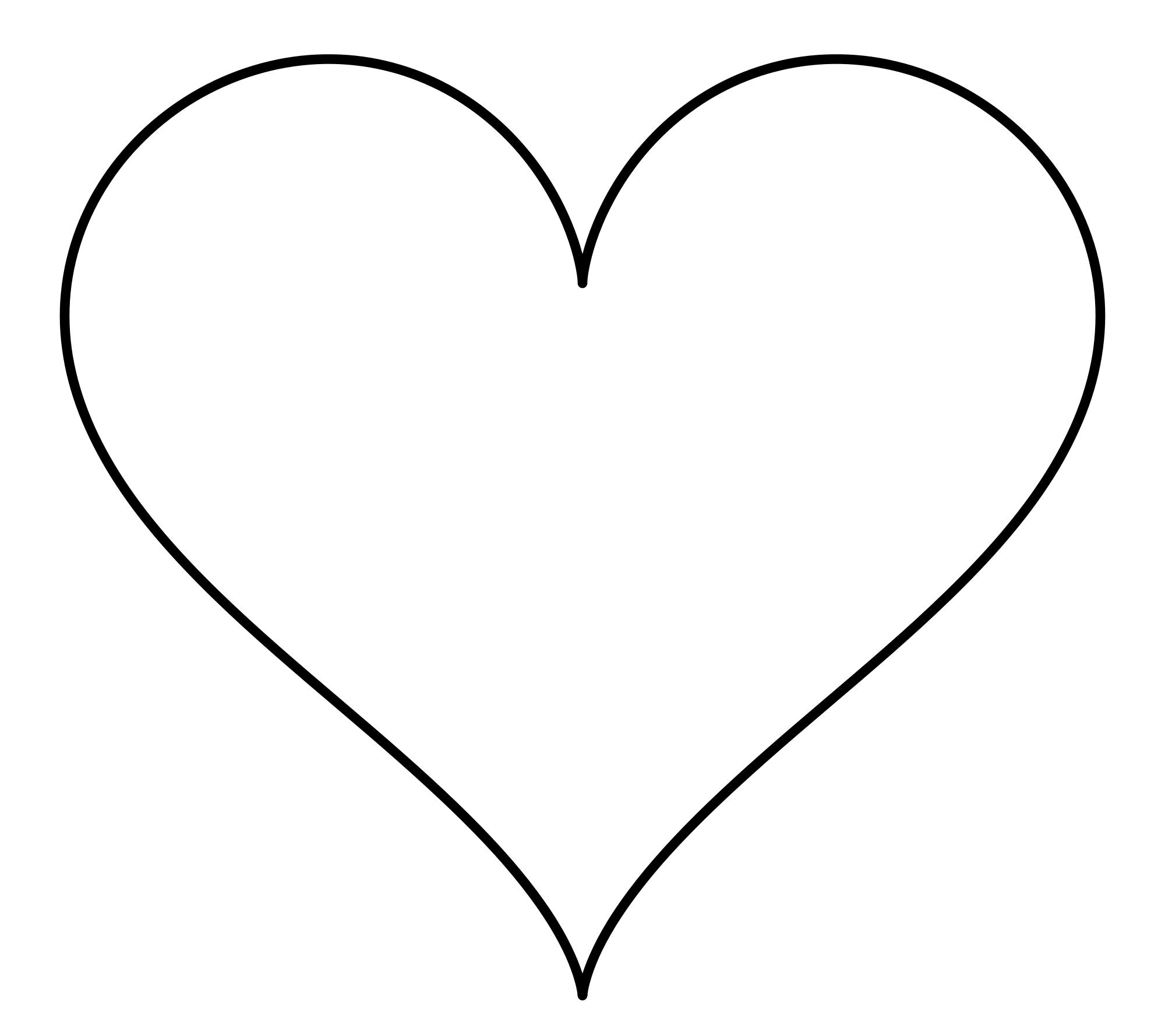 Heart Shape Picture.