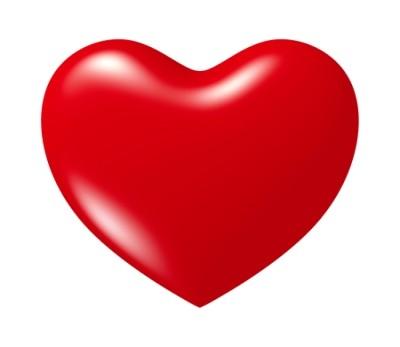 Valentine Heart Shape Clip Art.
