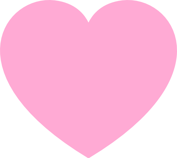 Clipart love heart shapes.