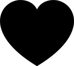 Clipart Heart Shape.