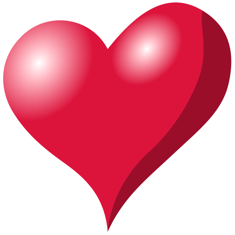 Heart Shapes Clipart.