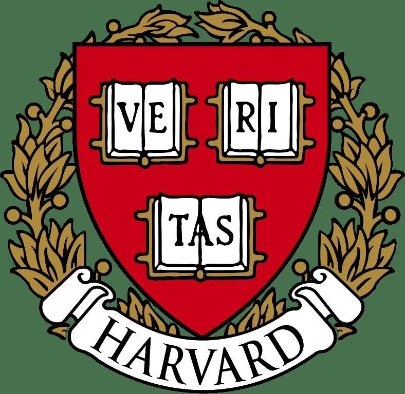 Harvard Logo transparent PNG.