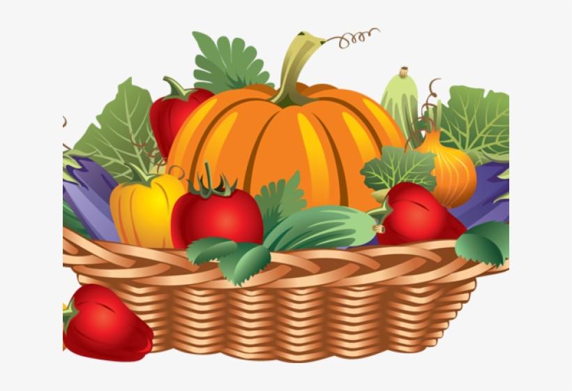 Harvest Clipart Basket Vegetable.