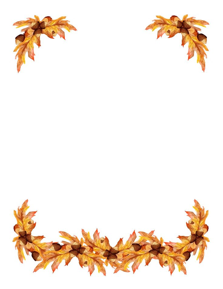 33+ Fall Harvest Border Clip Art.
