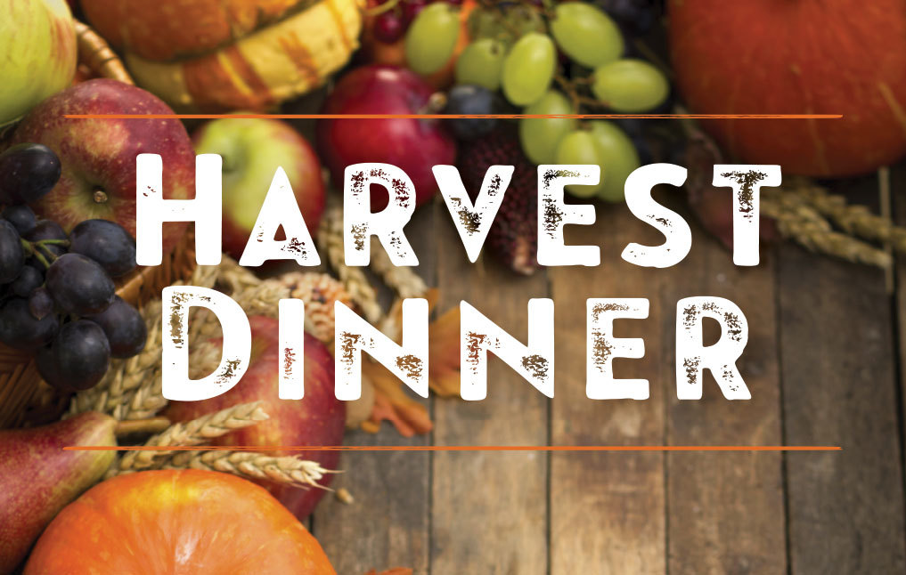 Harvest Dinner on Nov. 13!.
