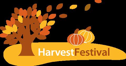 Harvest Festival: 8 October.