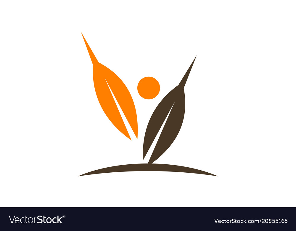 Harvest logo design template.