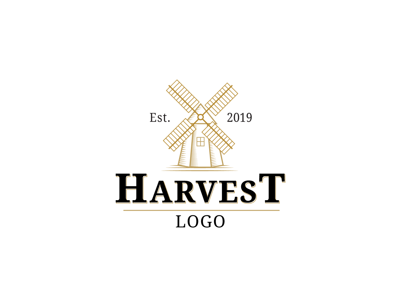 Harvest Logo by Nikoloz Molodinashvili on Dribbble.