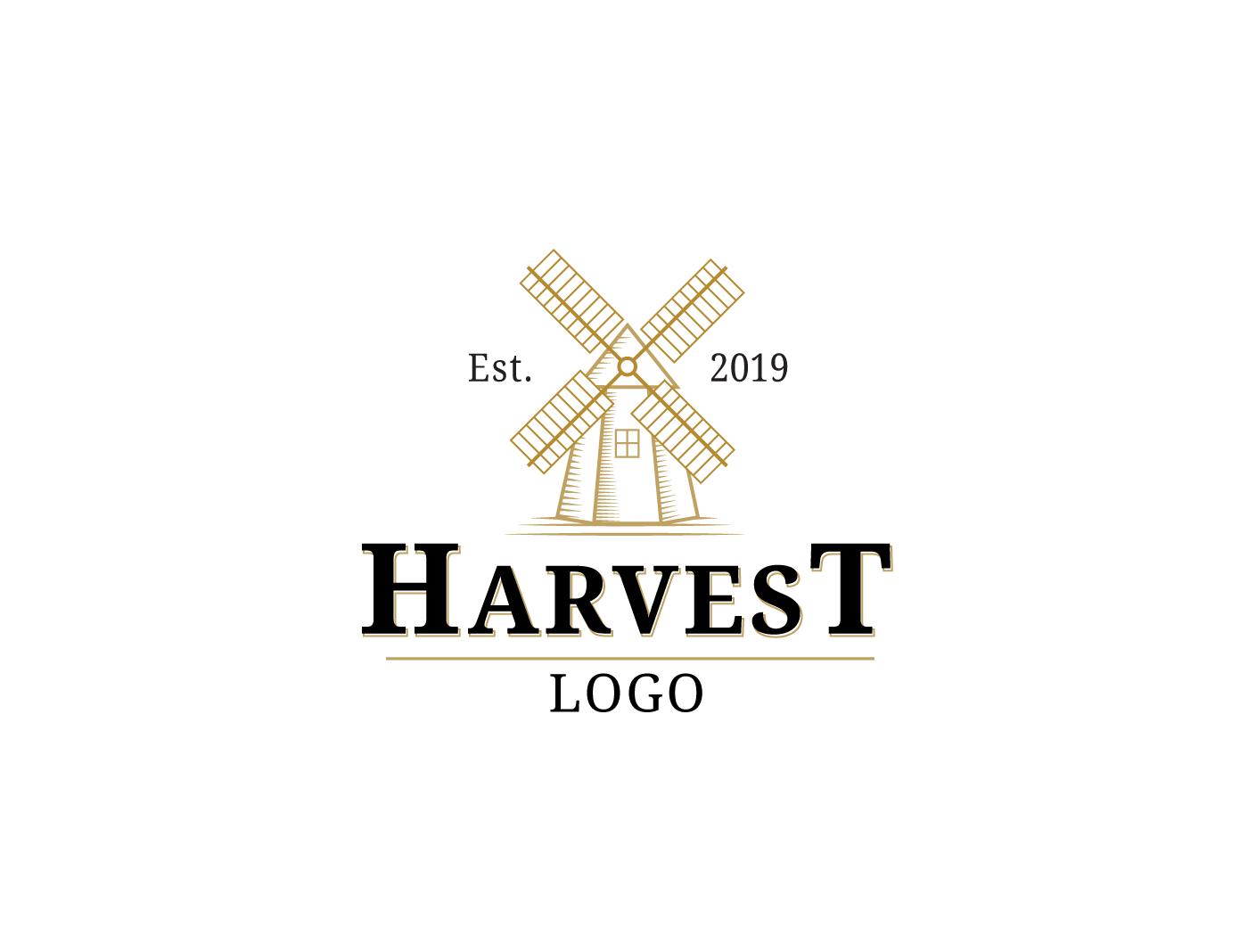 Harvest Logo by Nikoloz Molodinashvili on Dribbble.