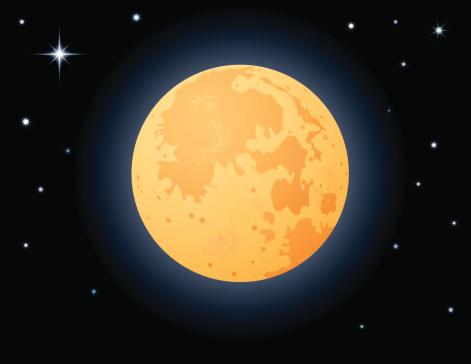 Clipart harvest moon.