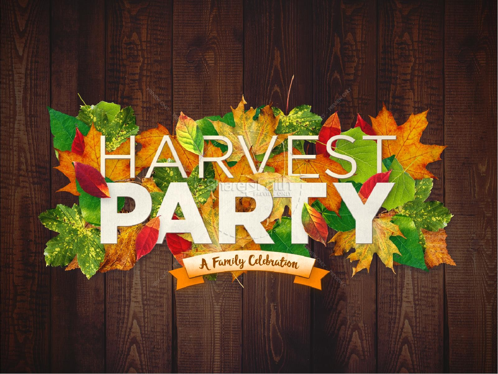 Harvest Party Clipart Free.
