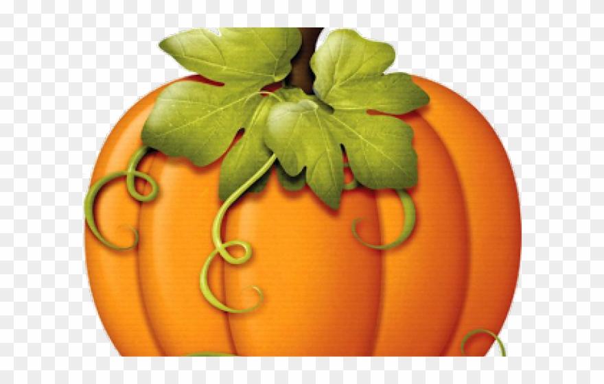 Harvest Clipart Colorful Pumpkin.