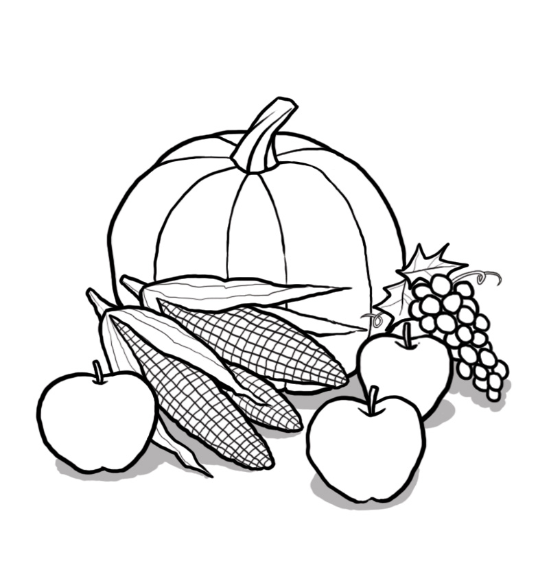 Harvest time clipart free.