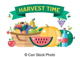 Harvest time Clip Art and Stock Illustrations. 471 Harvest time.