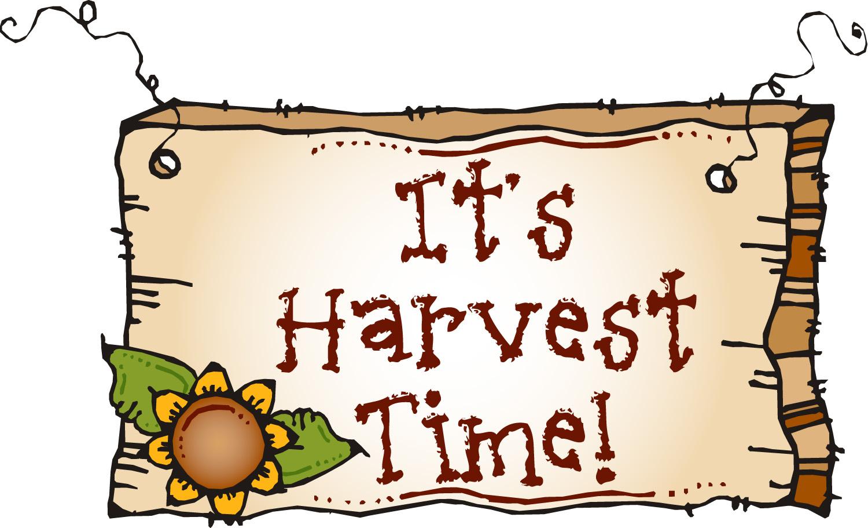 Harvest Time Clipart.