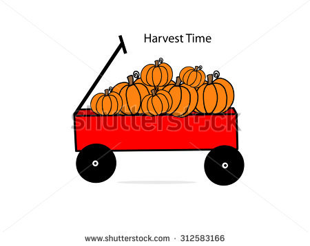 Little Red Wagon Stock Photos, Royalty.