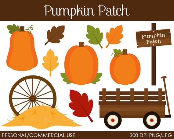 Free Halloween Pumpkin Patch Clipart.