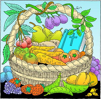 Harvest Sunday Christian Clipart.