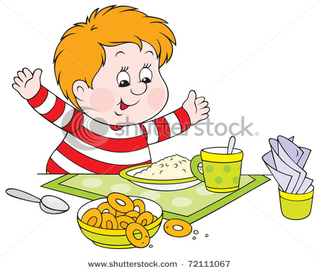 Clip Art Of Dinner Meals Clipart.