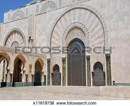 Stock Illustration of Casablanca King Hassan II Mosque k11819738.