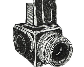 hasselblad drawing.