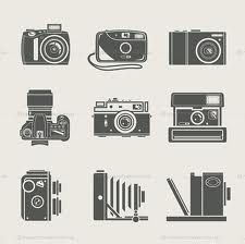 free retro camera clip art.