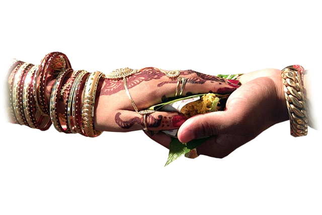 Indian Wedding Hand Clipart.