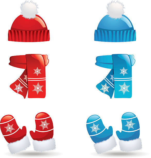 Best Winter Hat Illustrations, Royalty.