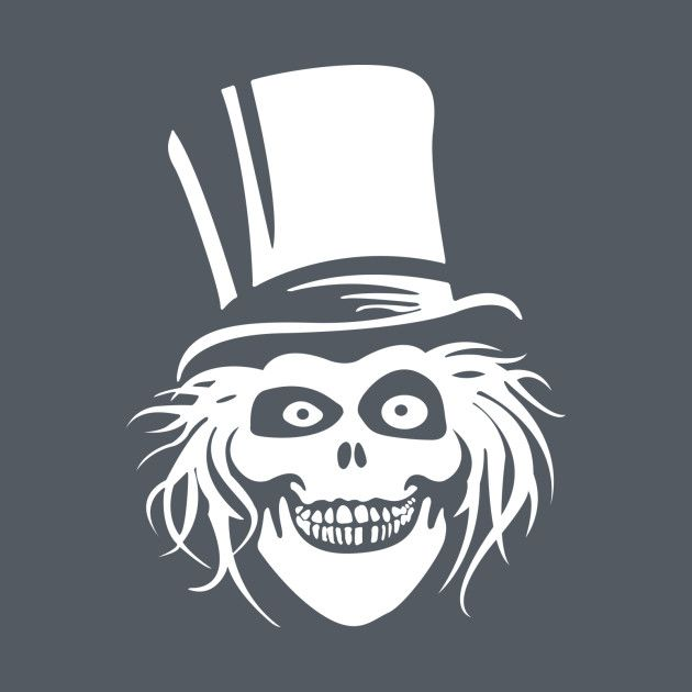 Hatbox Ghost Clipart.