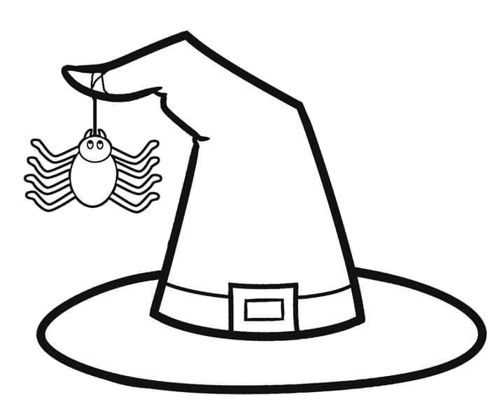 Witch Hat Clipart Black And White Transparent Png 4.