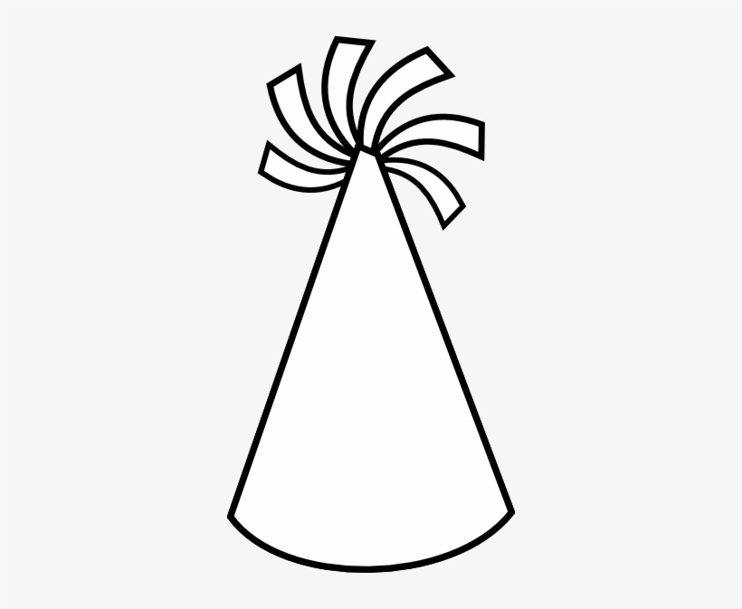 Black And White Library Party Hat Clipart Black And.