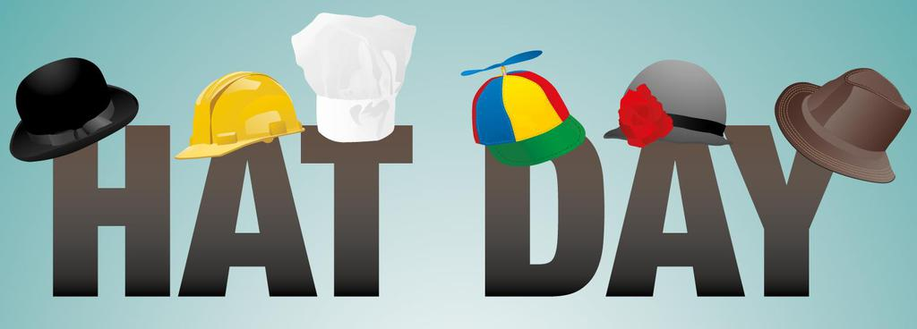 Hat Day Clipart National.