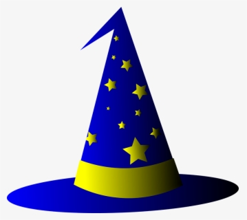 Free Wizard Hat Clip Art with No Background.