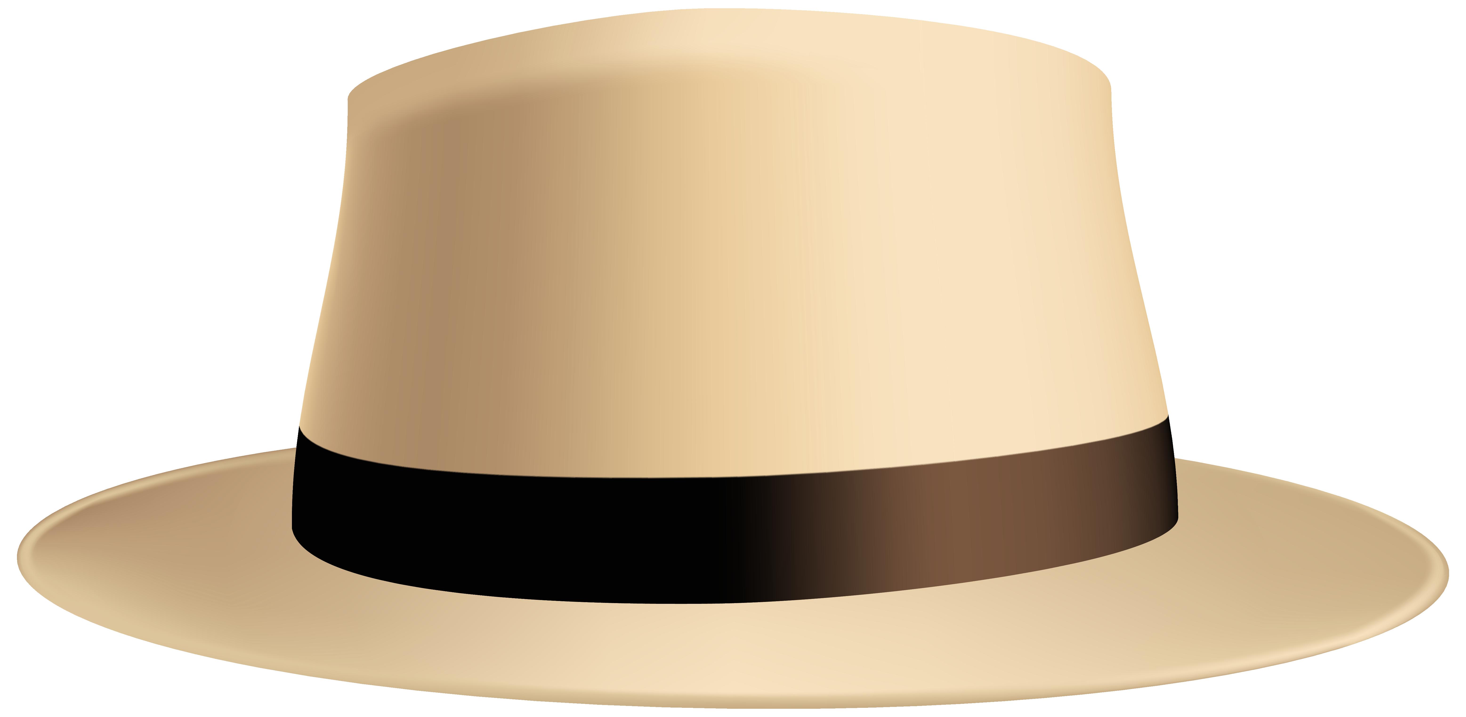 Male Summer Hat PNG Clip Art Image.