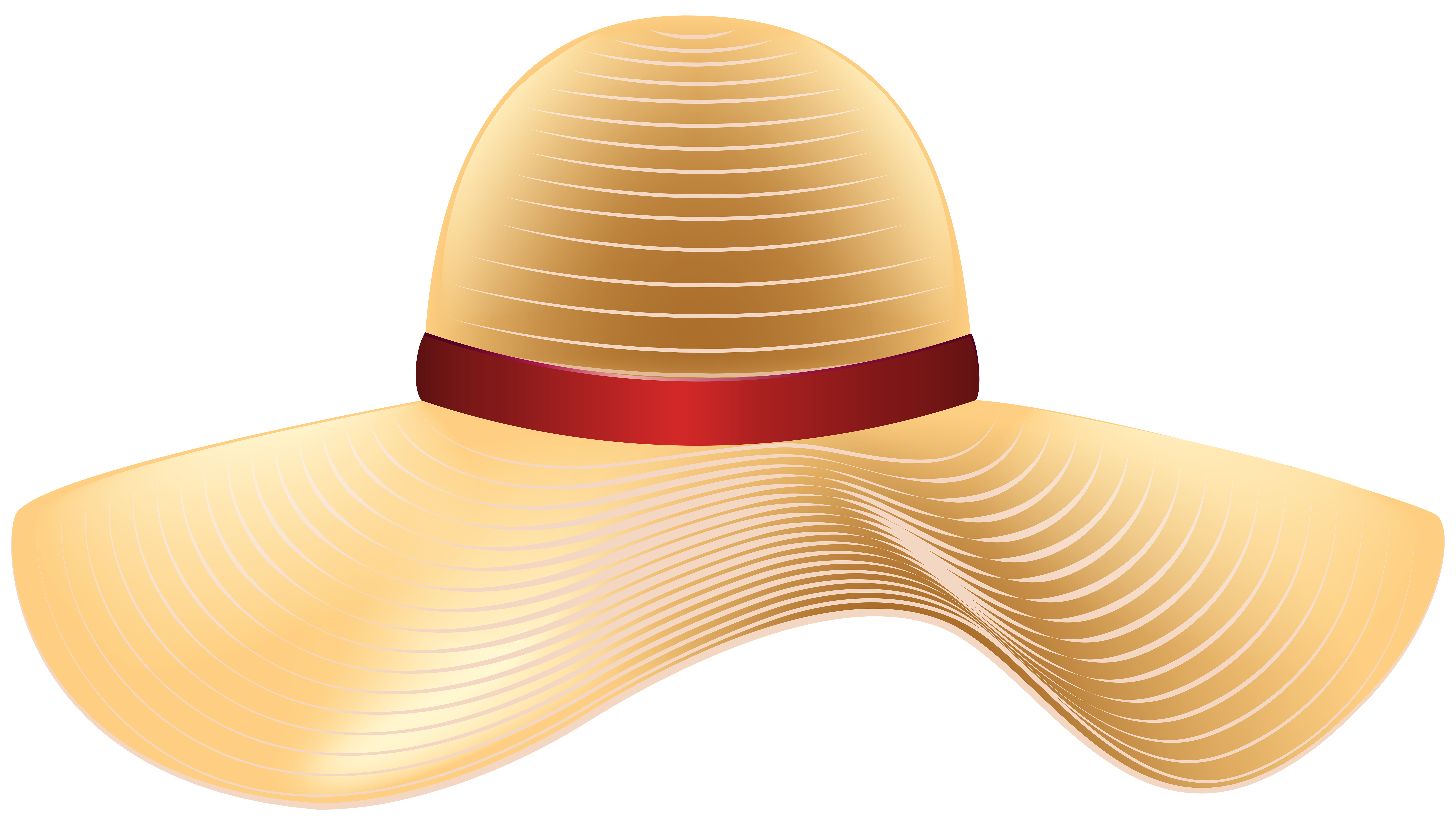 Sun Hat PNG Clip Art Image.