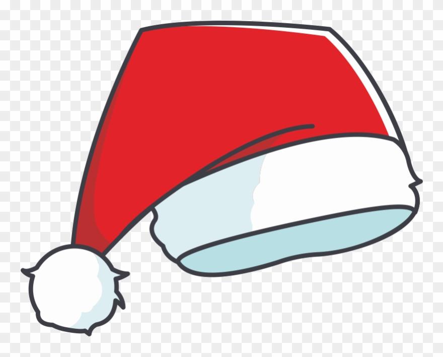 Santa Hat Vector Clipart (#2557914).