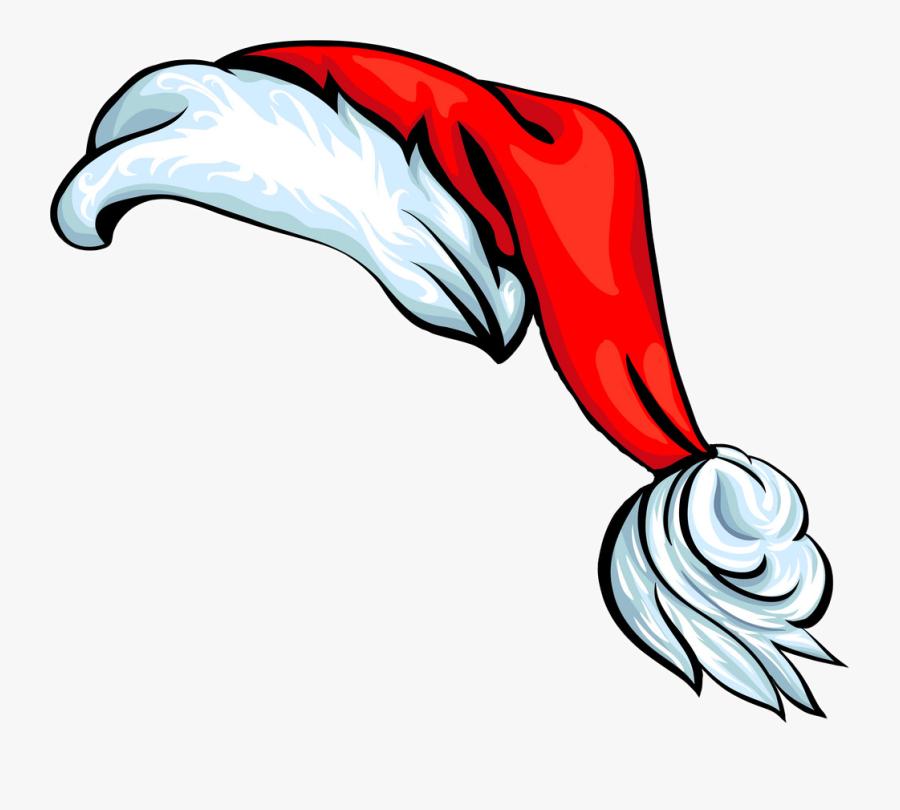 Cartoon Santa Hat Vector Clipart , Png Download.