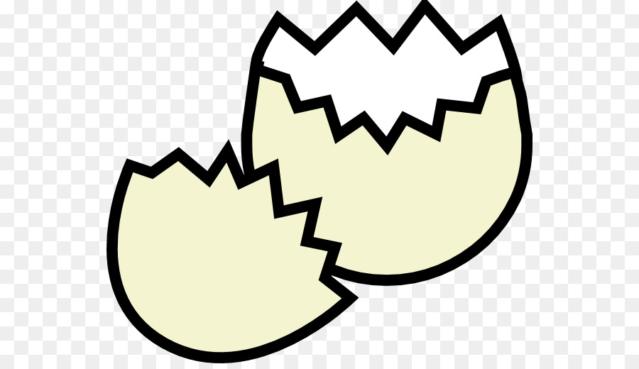 Chicken Eggshell Fried Egg Clip Art.