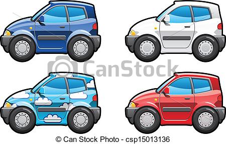 Vectors of Hatchback(three door).