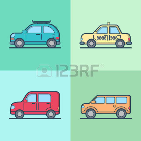 1,654 Sedan Hatchback Stock Vector Illustration And Royalty Free.