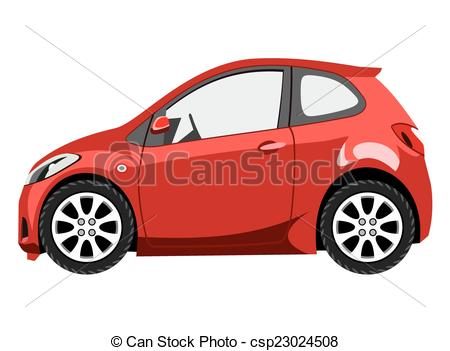 Vector Clipart of Hatchback.