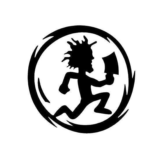 icp hatchet man inspired decal #icp #hatchet #man #running.