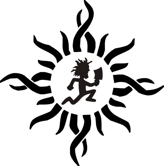 Hatchet Man, Tribal Hatchet Gear, ICP, Insane Clown Posse, Psychopathic  Records, Juggalo, Lette, SVG.