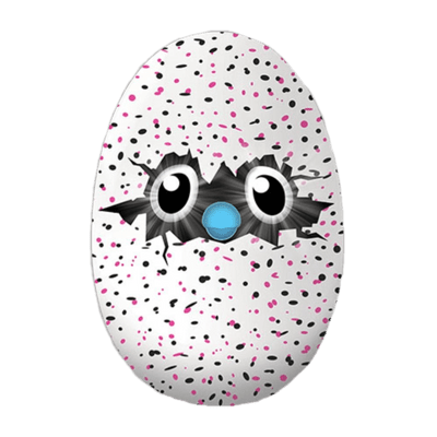 Hatchimal Peeking Through Egg Shell transparent PNG.